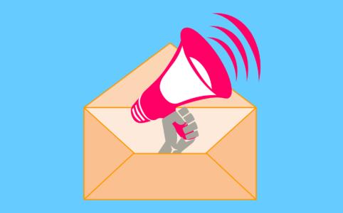 Werbetexter textet neue E-Mail für Verlag
